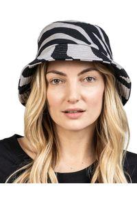 ROBERT KUPISZ - Szary kapelusz NOW. Kolor: szary. Materiał: bawełna