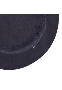 Bucket TOMMY HILFIGER - Monogram AW0AW09799 DW5. Kolor: niebieski. Materiał: materiał, bawełna