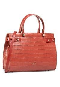 Czerwona torebka klasyczna Furla