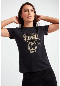 Karl Lagerfeld - T-SHIRT KARL LAGERFELD. Materiał: tkanina
