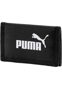 Puma - PUMA PORTFEL PHASE WALLET PUMA BLACK > 07561701. Materiał: poliester