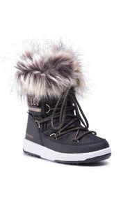 Czarne buty zimowe Moon Boot