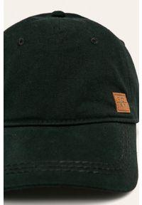 Czarna czapka z daszkiem Roxy gładkie
