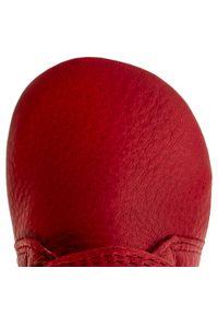 Czerwone półbuty Froddo z cholewką, na co dzień, na rzepy, casualowe