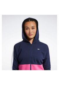 Bluza damska Reebok Training Essentials Logo FU2205. Materiał: bawełna, poliester. Wzór: napisy. Sport: fitness #5