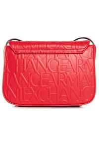 Czerwona listonoszka Armani Exchange