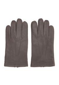 Szare rękawiczki Wittchen casualowe