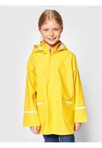Playshoes Kurtka przeciwdeszczowa 408638 D Żółty Regular Fit. Kolor: żółty