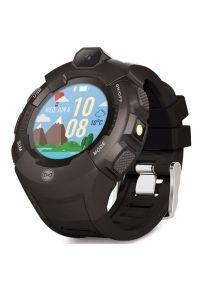 Smartwatch FOREVER Kids Care Me KW-400 Grafitowy. Rodzaj zegarka: smartwatch. Kolor: szary
