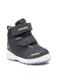 Viking - Śniegowce VIKING - Hero R Gtx GORE-TEX 3-89340-8316 Aubergine/Purple. Kolor: fioletowy. Materiał: skóra, materiał