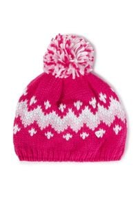 Rossignol - Czapka ROSSIGNOL - Jr Tina RLIYH09 Pink Fushia 374. Kolor: różowy. Materiał: włókno, akryl, materiał