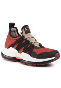 Czerwone sneakersy Armani Exchange