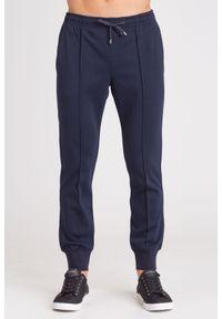 Niebieskie spodnie dresowe Emporio Armani