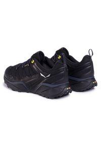Czarne buty trekkingowe Salewa trekkingowe, Gore-Tex, z cholewką