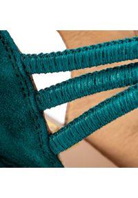 Zielone sandały Kanna