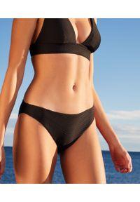 Czarny strój kąpielowy dwuczęściowy Etam