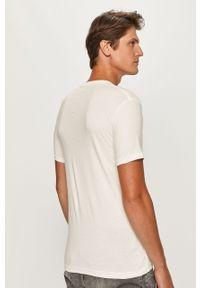 Biały t-shirt Pepe Jeans na co dzień, casualowy