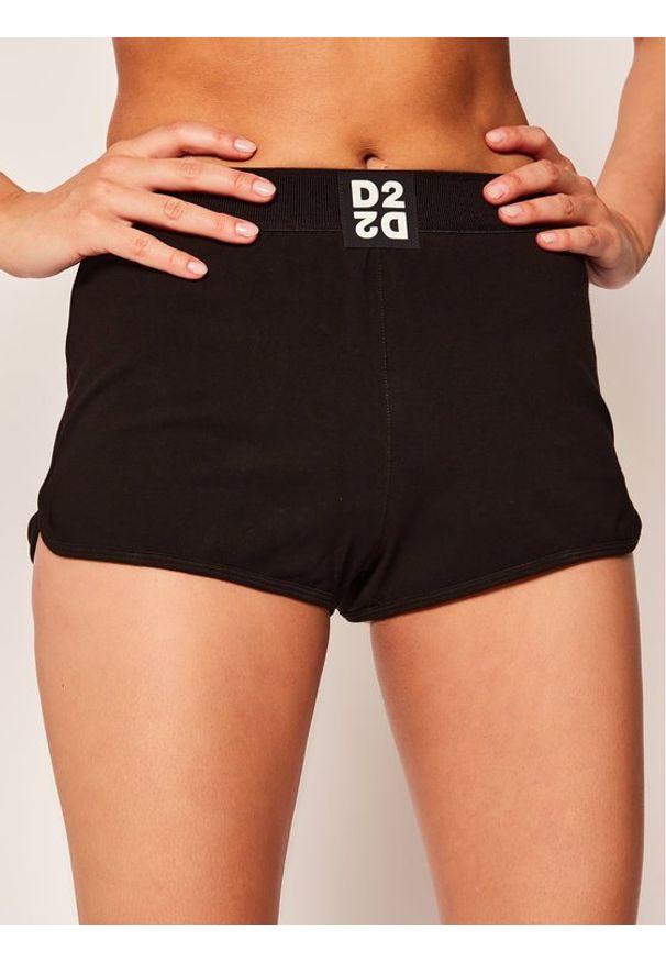 Dsquared2 Underwear Szorty piżamowe D8NA02980 Czarny