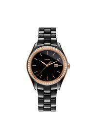 Czarny zegarek RADO vintage