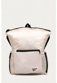 Reebok - Plecak. Kolor: różowy
