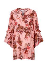 Różowa tunika Cream w kolorowe wzory