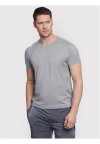 Vistula T-Shirt Flynn XA1081 Szary Regular Fit. Kolor: szary