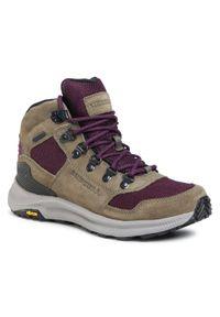Zielone buty trekkingowe Merrell trekkingowe