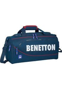 Benetton torba sportowa Benetton Granatowy (25 L). Kolor: niebieski