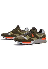 Sneakersy Ralph Lauren z cholewką