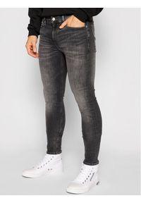 Calvin Klein Jeans Jeansy Infinite Flex J30J317206 Szary Super Skinny Fit. Kolor: szary