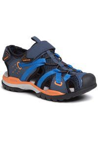 Niebieskie sandały Geox klasyczne, na lato