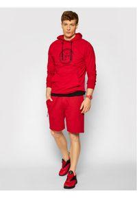 4f - 4F Bluza H4L21-BLM015 Czerwony Regular Fit. Kolor: czerwony