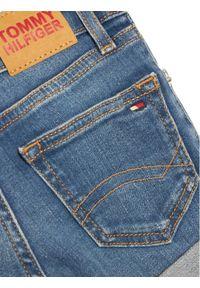 TOMMY HILFIGER - Tommy Hilfiger Szorty jeansowe Nora Basic KG0KG05773 M Niebieski Skinny Fit. Kolor: niebieski. Materiał: jeans