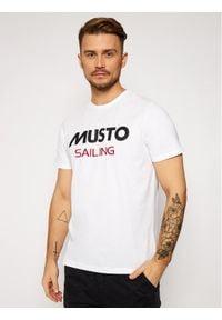 Musto T-Shirt 82020 Biały Regular Fit. Kolor: biały #1