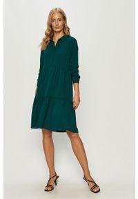 Zielona sukienka Jacqueline de Yong casualowa, mini