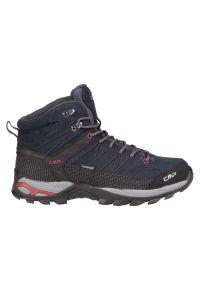 Buty turystyczne męskie CMP Rigel Mid WP 3Q12947. Materiał: zamsz, poliester. Szerokość cholewki: normalna