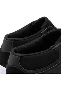 Sneakersy DC - Kalis Vulc Mid ADYS300622 Black/Black/White(XKKW). Kolor: czarny. Materiał: skóra, zamsz, materiał