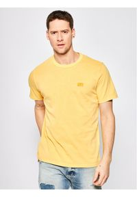 Levi's® T-Shirt Authentic Crewneck Tee 86592-0002 Żółty Relaxed Fit. Kolor: żółty