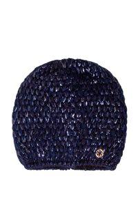 Niebieska czapka Granadilla klasyczna, z aplikacjami