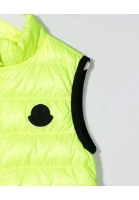 MONCLER KIDS - Neonowa kamizelka Artemas 4-10 lat. Kolor: żółty. Materiał: materiał, puch. Wzór: aplikacja. Sezon: lato #2