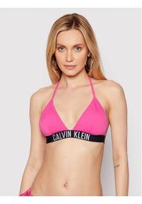 Różowe góra bikini Calvin Klein Swimwear