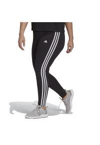 Adidas - adidas Essentials 3-Stripes (Plus Size) > GS1382. Kolekcja: plus size. Materiał: bawełna, materiał, elastan. Wzór: paski