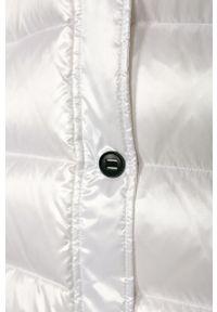Biała kurtka Guess Jeans na co dzień, casualowa