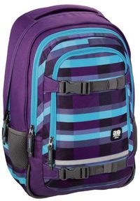 ALL OUT - All Out Plecak szkolny Selby summer check purple