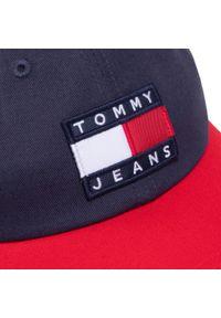 Niebieska czapka z daszkiem Tommy Jeans