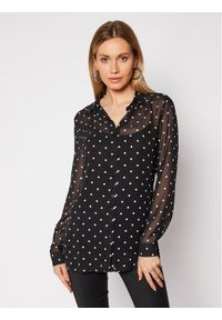 Guess Koszula Clouis W1RH09 W70Q0 Czarny Relaxed Fit. Kolor: czarny