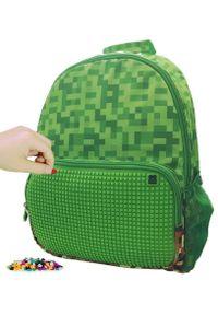 Pixie Crew plecak Minecraft zielony. Kolor: zielony. Styl: casual