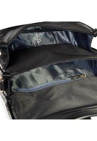 U.S. Polo Assn - Torebka U.S. POLO ASSN. - Houston MiniCrossb.w/Flap BIUHU4923WIP000 Black. Kolor: czarny. Materiał: skórzane