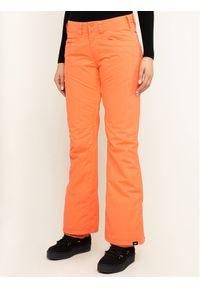 Różowe spodnie sportowe Roxy snowboardowe