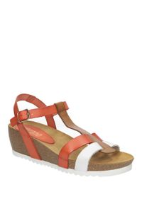 Białe sandały Verano eleganckie, na lato